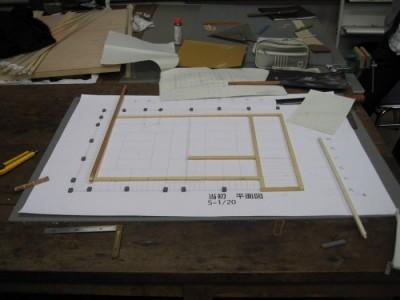 模型製作 2008.12-2