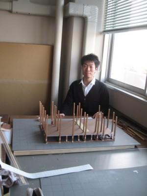 模型製作 2009.3-3 平田くん