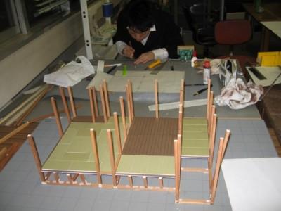 模型製作 2009.3-4