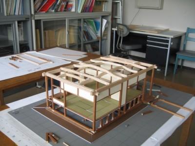 模型製作 2009.8-2
