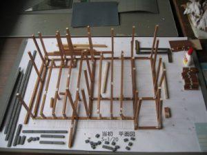 白寿庵復原模型製作