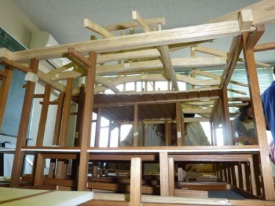 白寿庵模型製作 2011-2