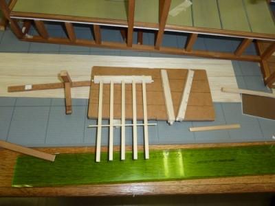 白寿庵模型製作 2011-3