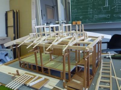 白寿庵模型製作 2011-4