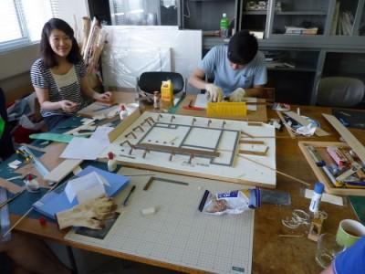 白寿庵模型製作 2011-5