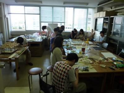 白寿庵模型製作 2011-6