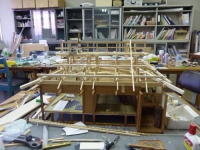 白寿庵模型製作 2011-8