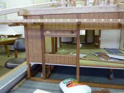 白寿庵模型製作 2011-9