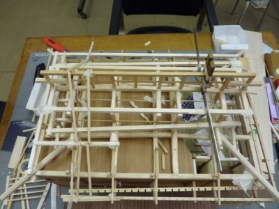 白寿庵模型製作 2011-10
