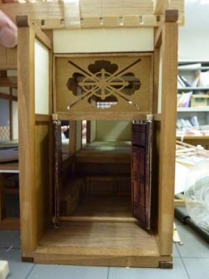 白寿庵模型製作 2011-11
