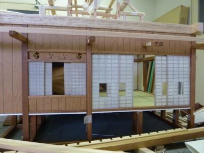 白寿庵模型製作 2011-12