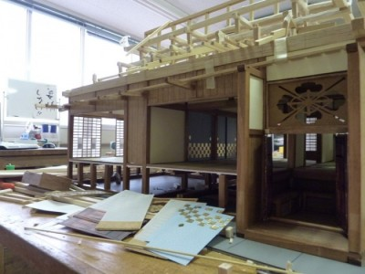 白寿庵模型製作 2011-16