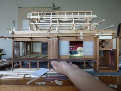 白寿庵模型製作 2011-21