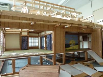 白寿庵模型製作 2011-24
