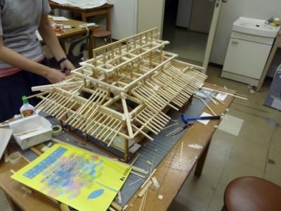 白寿庵模型製作 2011-28