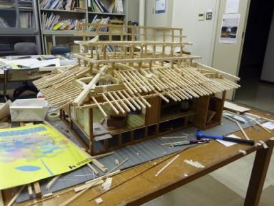 白寿庵模型製作 2011-29