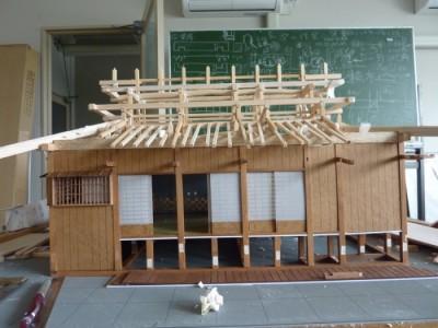 白寿庵模型製作 2011-34