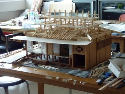 白寿庵模型製作 2011-36