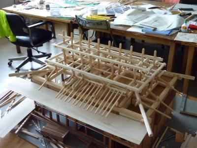 白寿庵模型製作 2011-37
